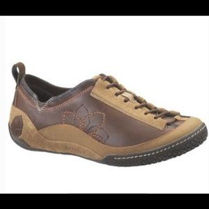 Merrell Bella Active Brown Leather Shoes
